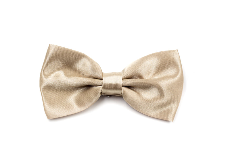 Mens Bow Tie - Champagne
