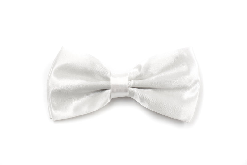 Mens Bow Tie - White