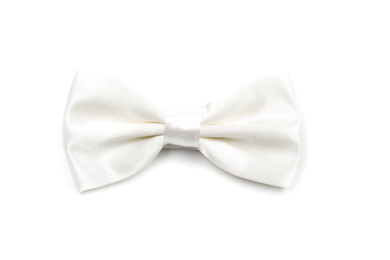 Mens Bow Tie - Ivory