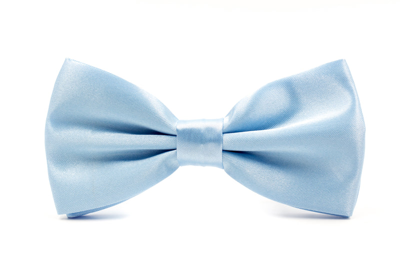 Mens Bow Tie - Light Blue