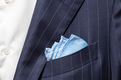 Pocket Square - Baby Blue