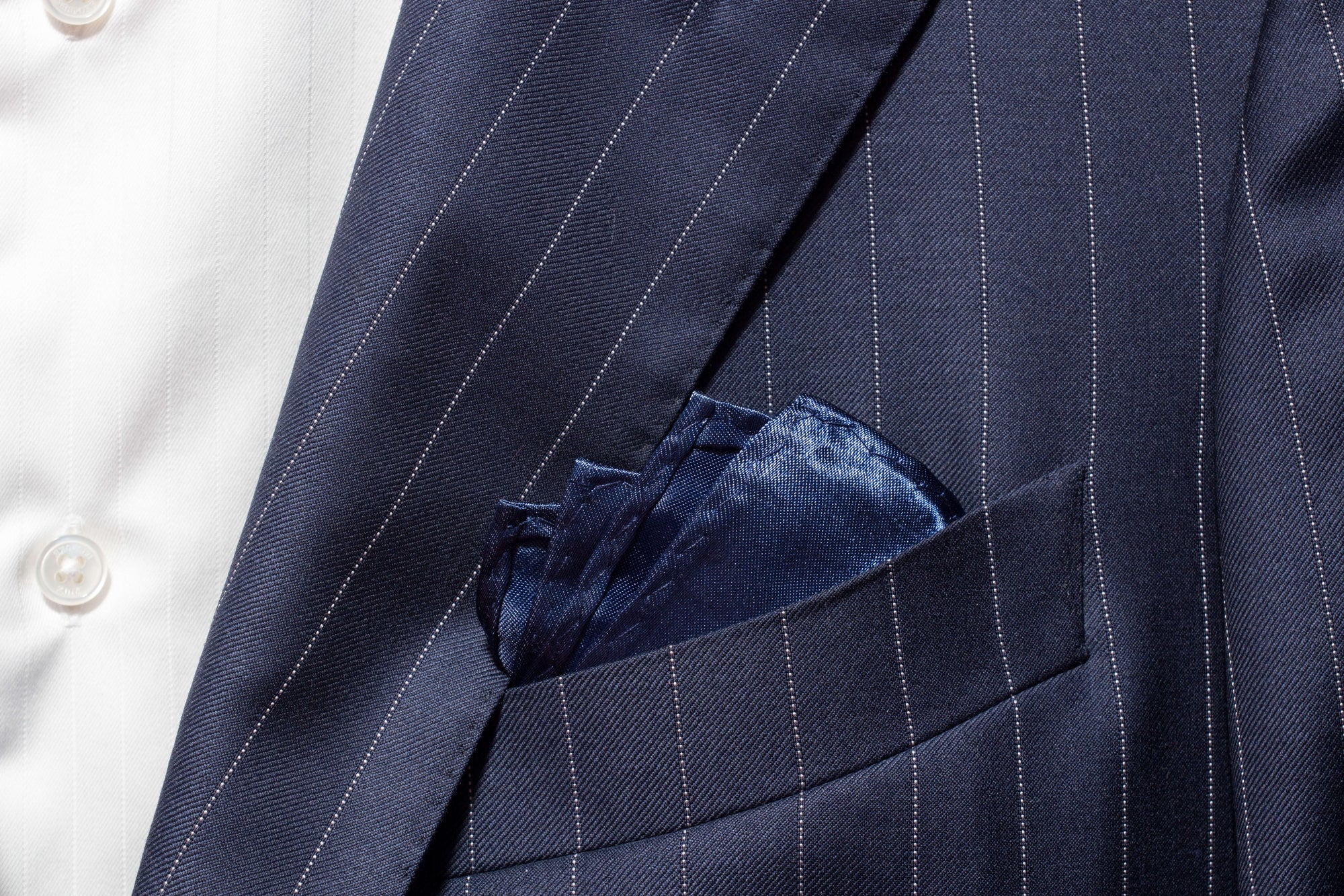 Pocket Square - Navy Blue