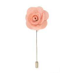 Petal Lapel Pin - Peach