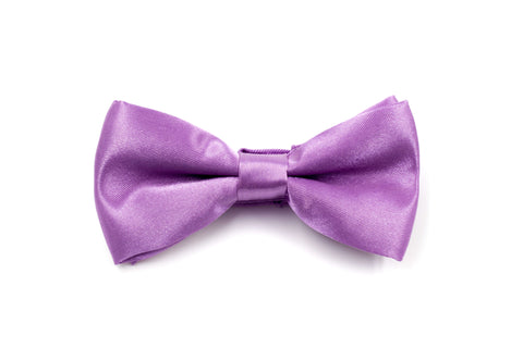 Boys Bow Tie - Purple