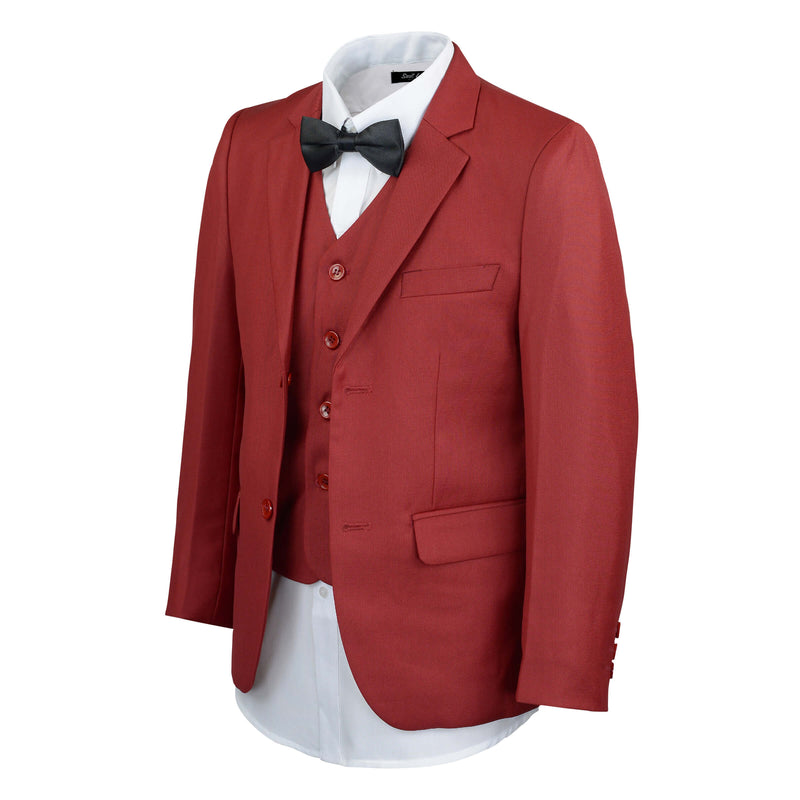 Boys Red Suit