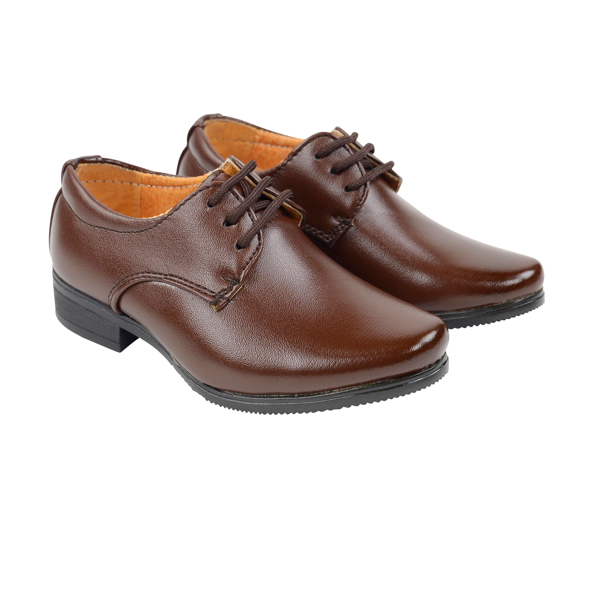 Baby Boys Dark Brown Lace Ups