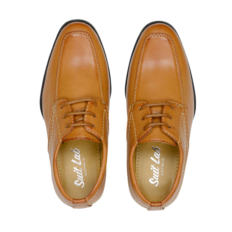 Sydney Derby Shoes - Tan