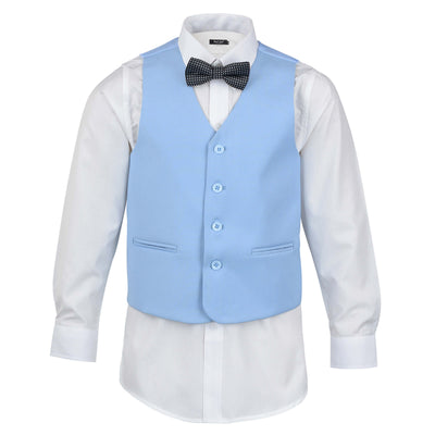 Boys Sky Blue Suit