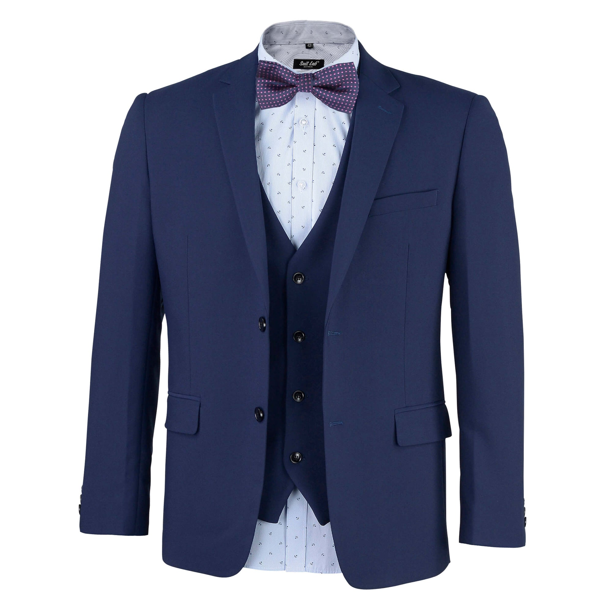 Dark Horse Navy Mens Suit