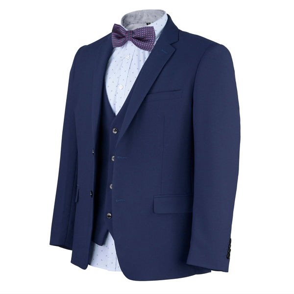 Mens Dark Horse Navy Suit