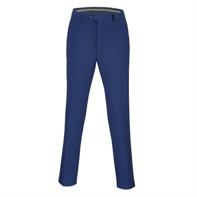 Men Suit Pants - Navy Blue