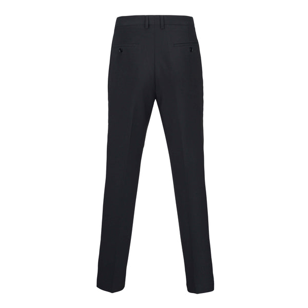 Men Suit Pants - Matte Black