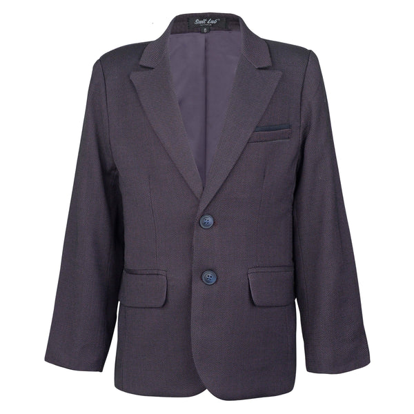 Boys Sports Jacket - Olive Purple