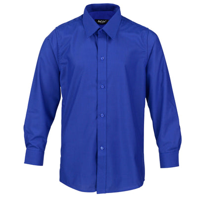 Boys Dark Blue Formal Shirt