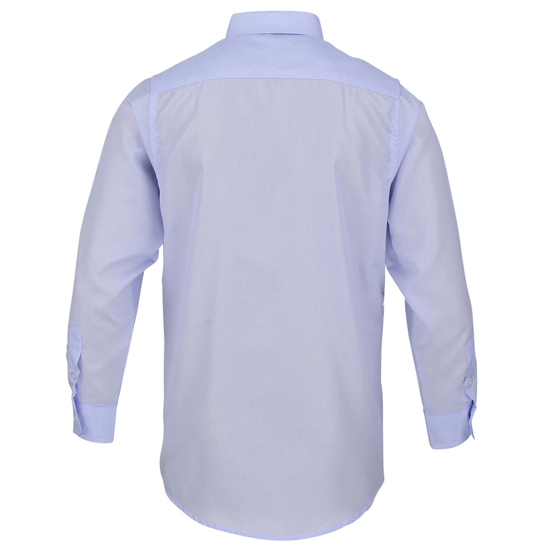 Boys Blue Bengal Stripe Formal Shirt