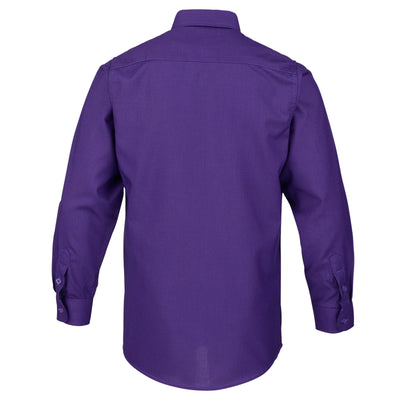Boys Dark Purple Formal Shirt