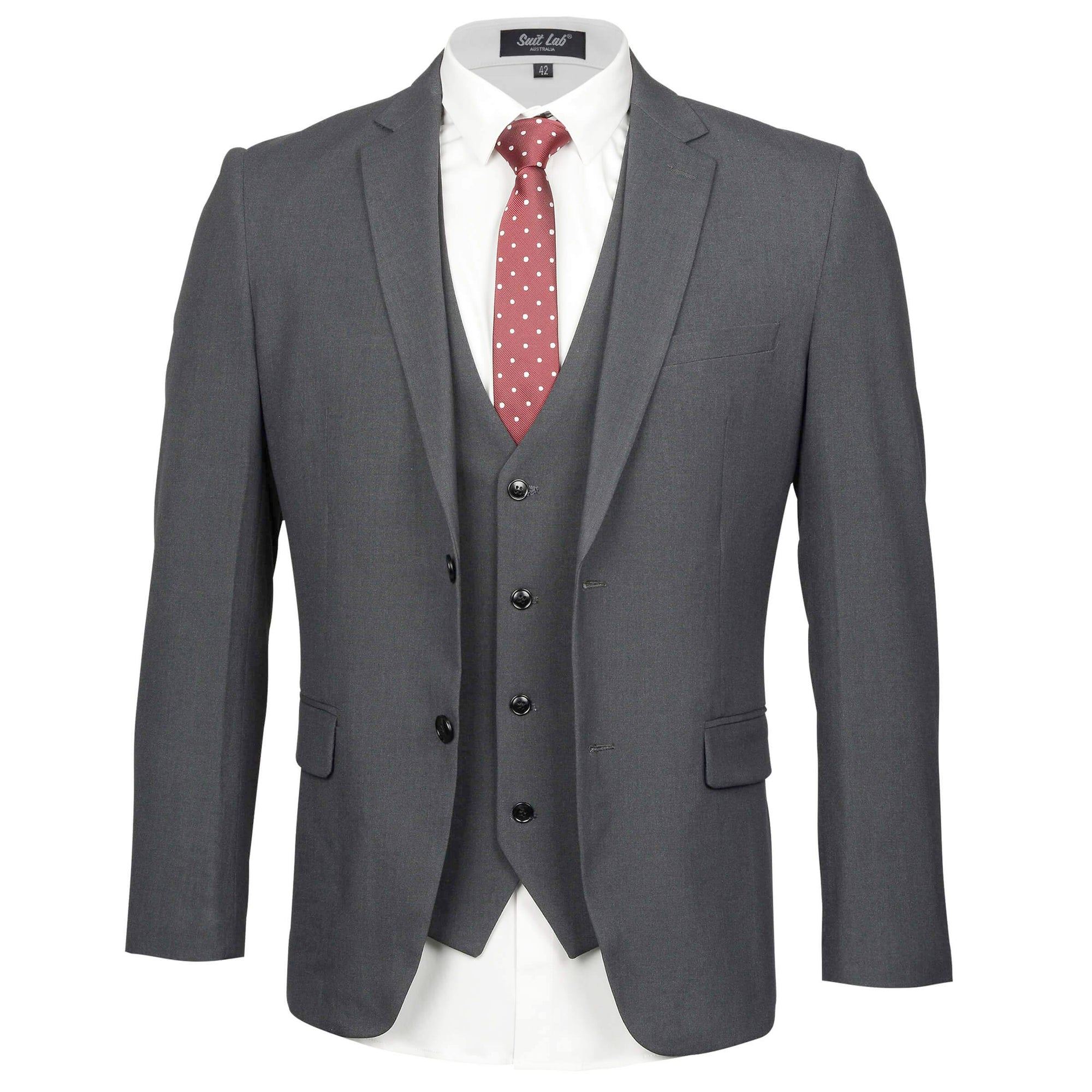 Dark Grey Mens Suit