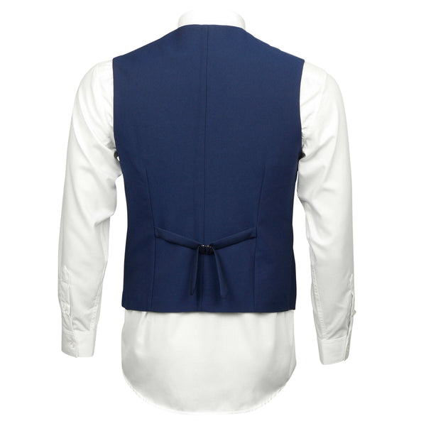 Matte Navy Blue  Mens Vest
