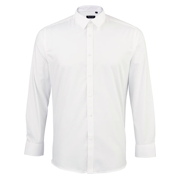 Mens White Texture Shirt