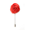 Rose Lapel Pin - Orange