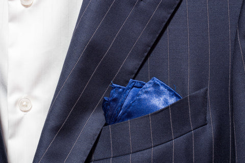 Pocket Square - Royal Blue