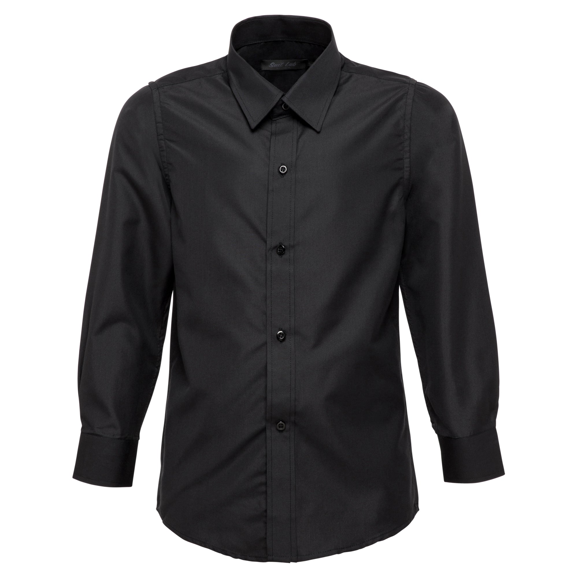 Boys Black Formal Shirt