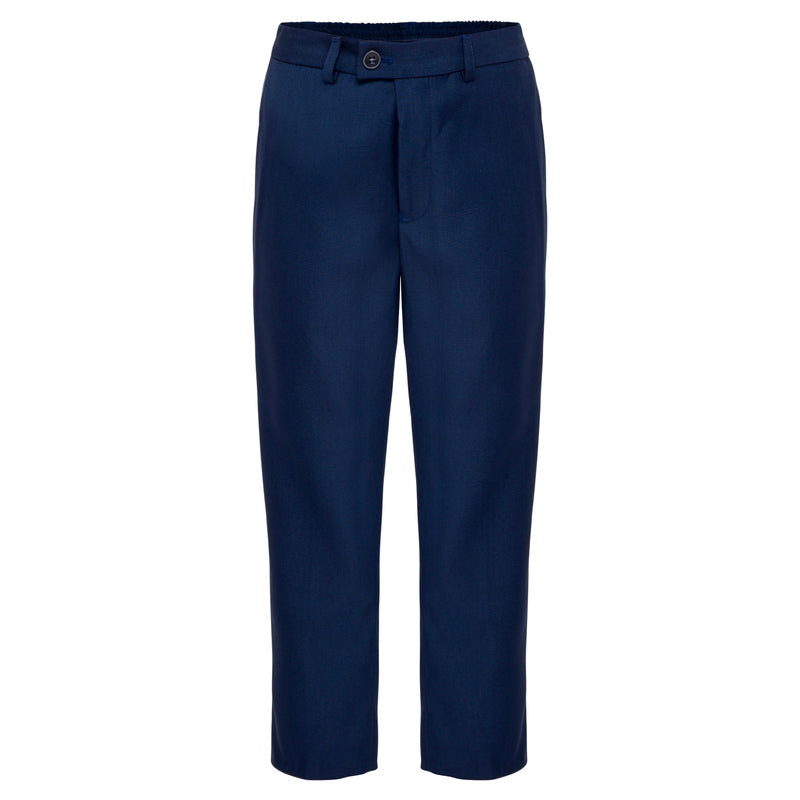 Boys Dark Horse Navy Trousers