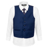 Boys Dark Horse Navy Vest