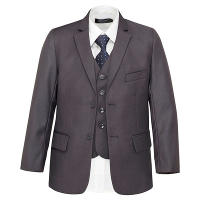 Boys Charcoal Grey Suit