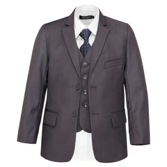 Boys Dark Grey Suit