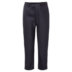 Boys Steel Blue Grey Trousers