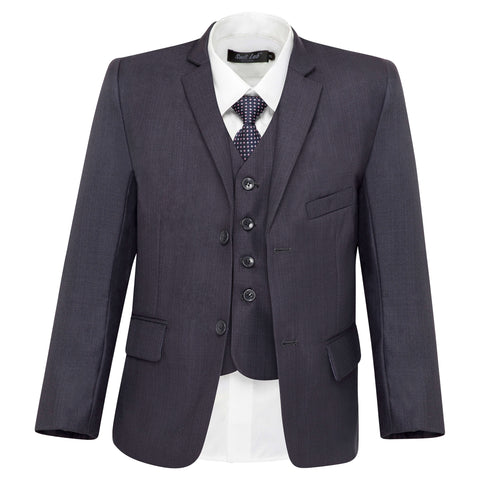 Boys' Charcoal Grey Suit
