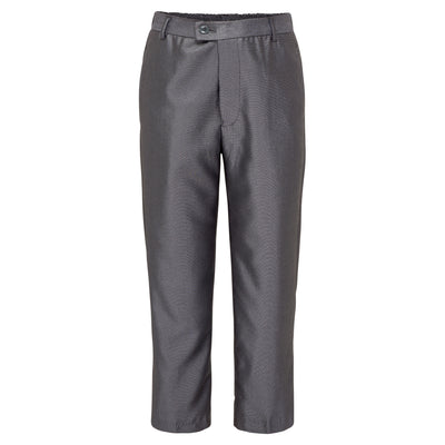 Boys Accented Grey Trousers