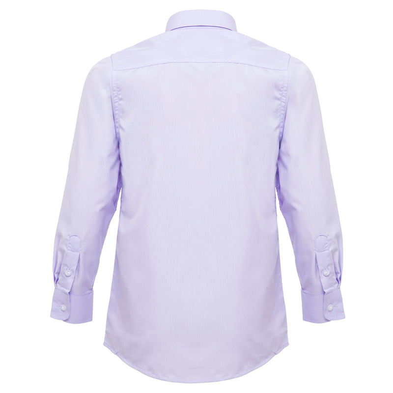 Boys Lilac Formal Shirt