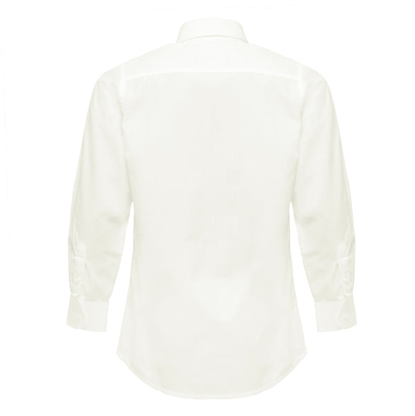 Boys Off-White Formal Shirt