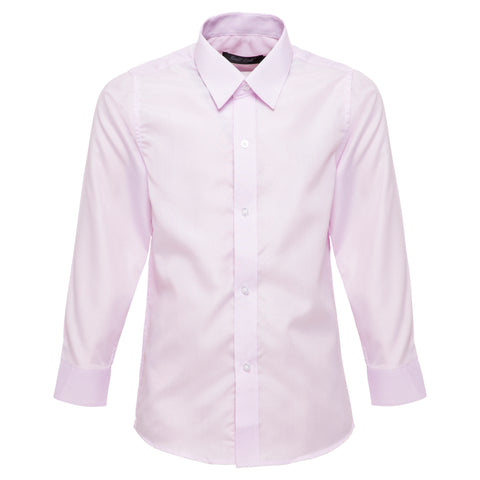 Boys' Pink Stripes Shirt