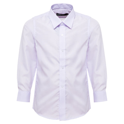 Boys' Purple Stripes Shirt