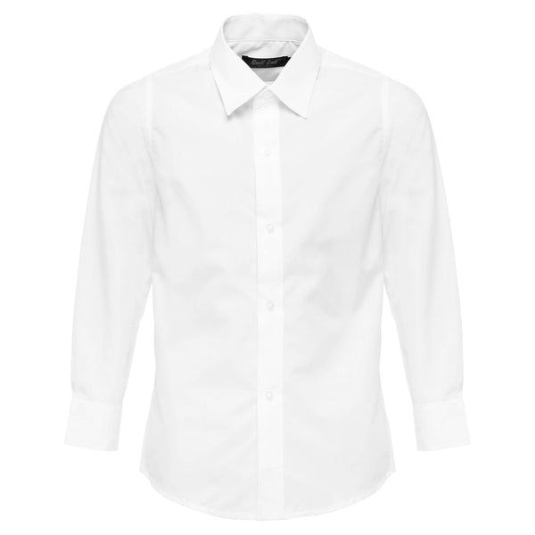 Boys White Formal Shirt