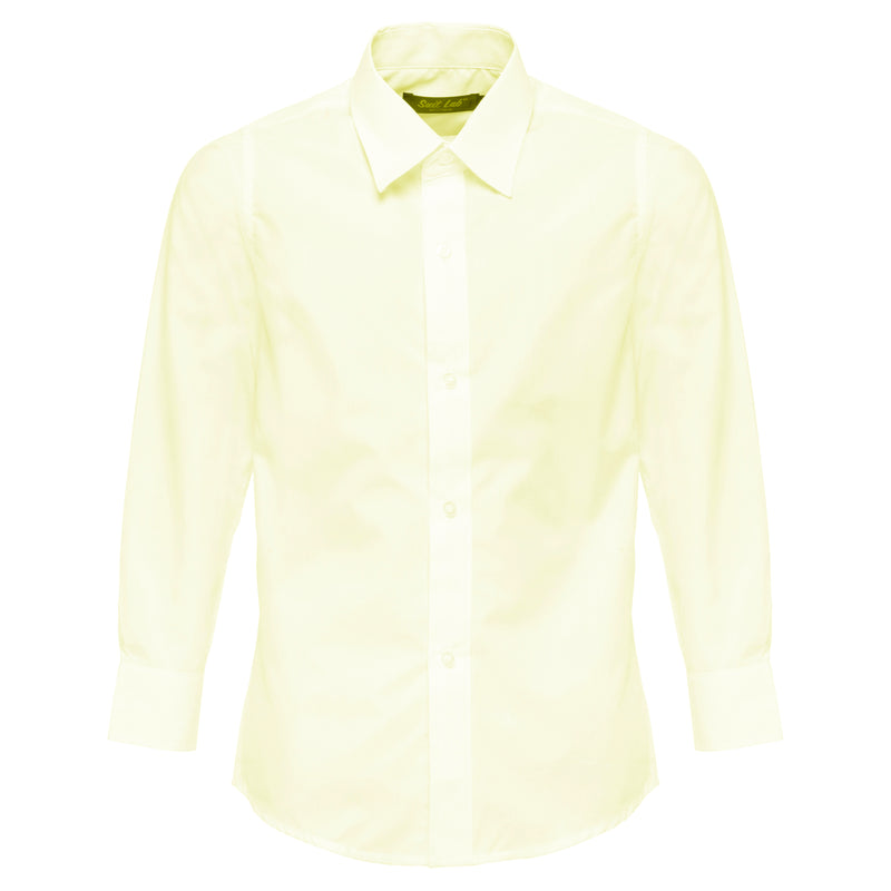 Boys Yellow Formal Shirt