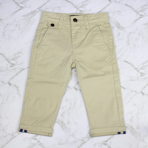 Boys Chino Pants - Sand