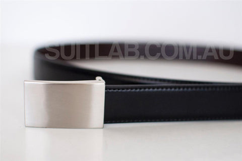 Baby / Boys / Men Leather Belt - Flat Buckle