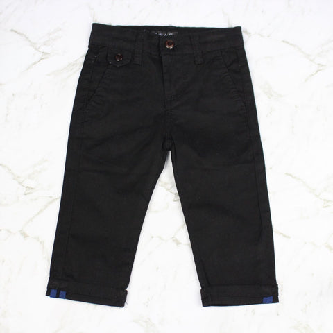 Boys Chino Pants - Black