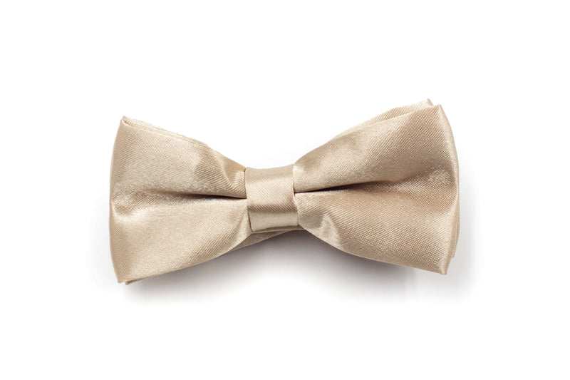 Boys Bow Tie - Champagne