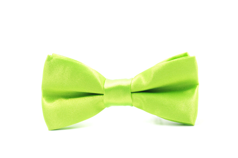Boys Bow Tie - Lime Green