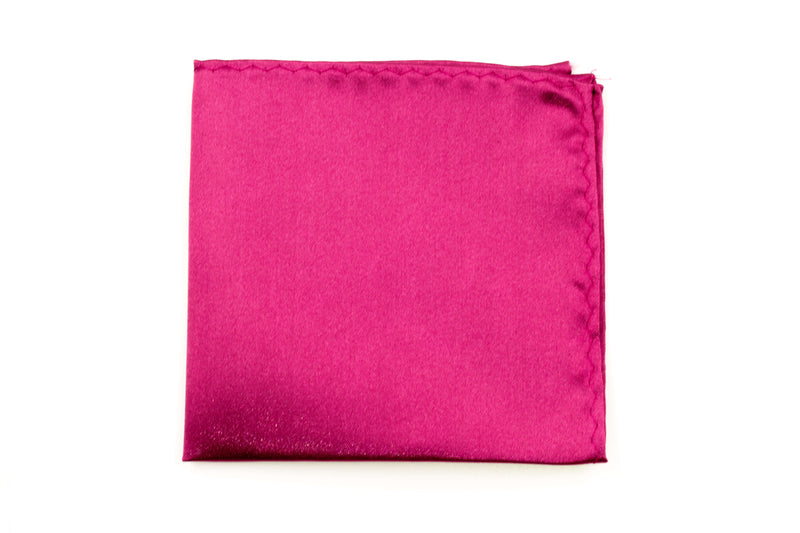 Pocket Square - Fuchsia Pink