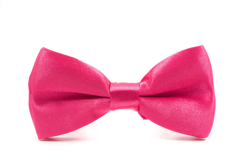 Boys Bow Tie - Hot Pink