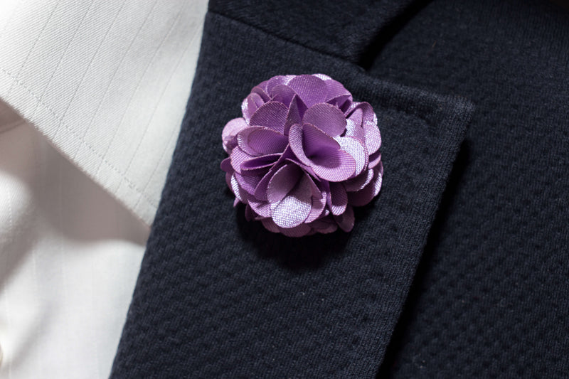 Lilac Purple Lapel