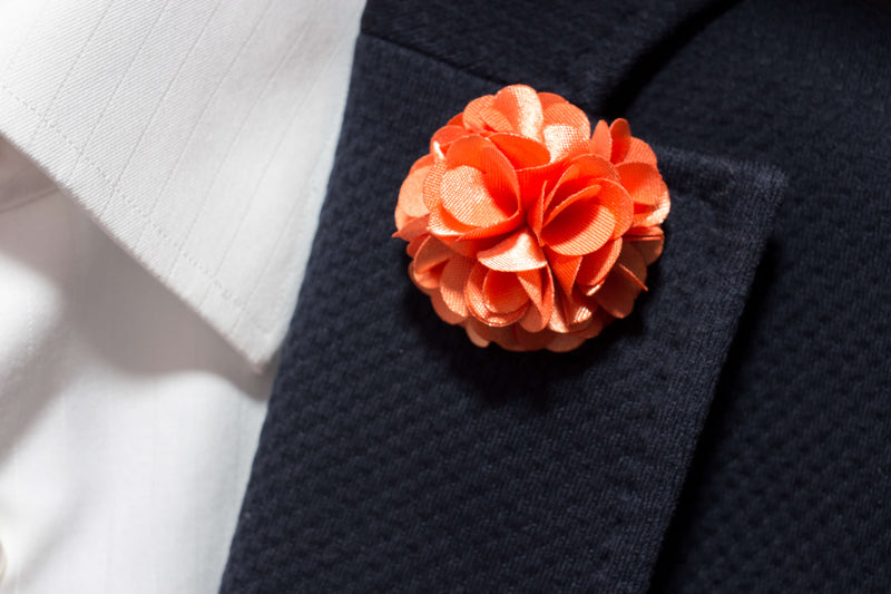 Orange Lapel
