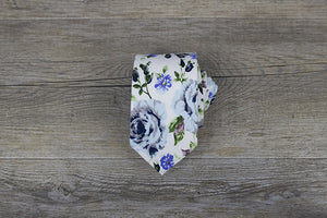 Men Ties - Cotton Floral 3