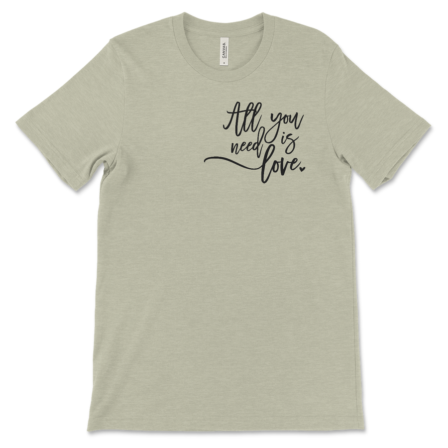 all-you-need-is-love-heather-stone-short-sleeve-bella-and-canvas-short-sleeve-tee-shirt-fab five print shop